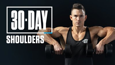 30-Day Shoulders with Abel Albonetti mobile header image