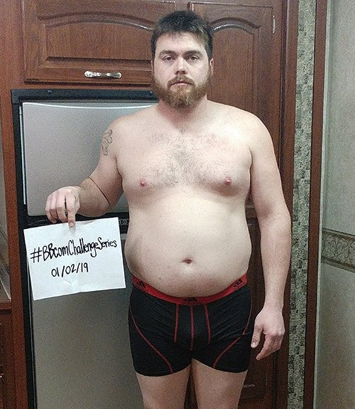 Age: 31, Height: 6 2, Weight: 241 lbs., Body Fat: 31.4%