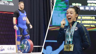 Pan American Weightlifting Champions Wes Kitts and Alyssa Ritchey on What It Takes to Win Big