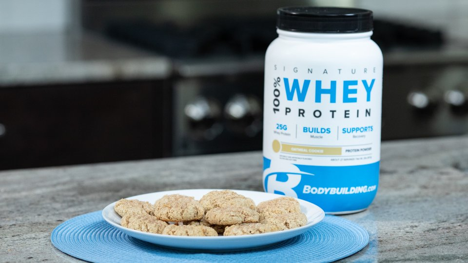 Oatmeal Snickerdoodle Protein Cookies