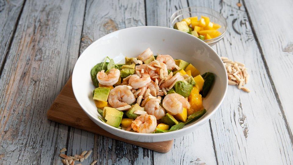 Shrimp Avocado Mango Salad