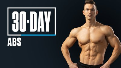 30-Day Abs with Abel Albonetti mobile header image