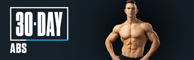 30-Day Abs with Abel Albonetti wide header image