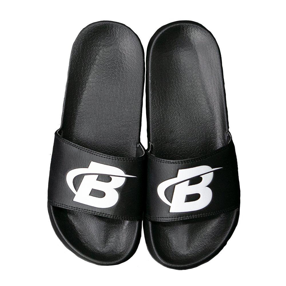 Set of 2 Candy Skulls Isolated on White Mens Shower Athletic Slides Sandal Slippers Flip Flops