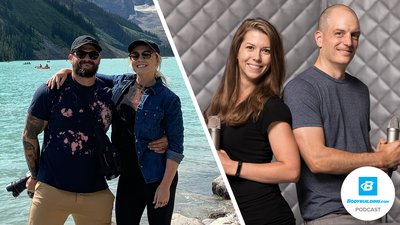 Podcast Episode 73 - Matt Vincent & Bonnie Schroeder: Lifting, Injury Rehab, and Athletic Adventuring banner