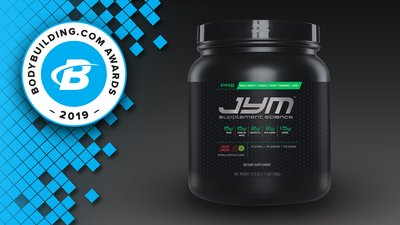 2019 Bodybuilding.com Awards: Pre-Workout of the Year