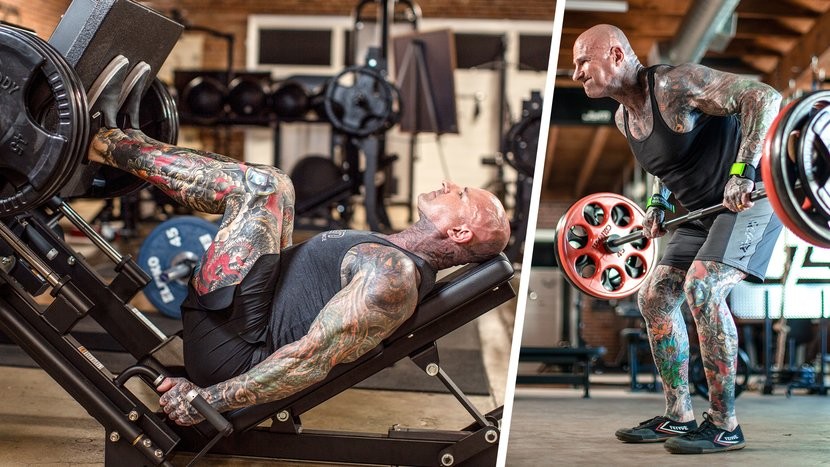 Jim Stoppani Lifting Heavy