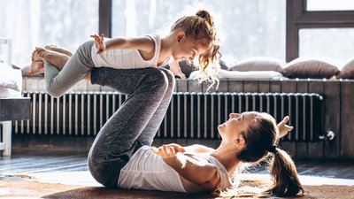 6 Home Workouts You Can Do with Your Kids