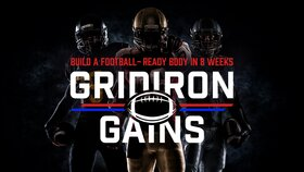 Gridiron Gains: Build a Football-Ready Body in 8 Weeks