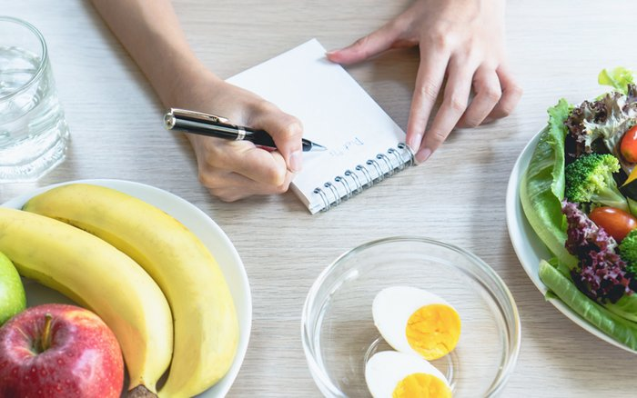 creating a grocery list