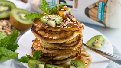 Cinnamon Toast Protein Pancakes for a Healthy Breakfast