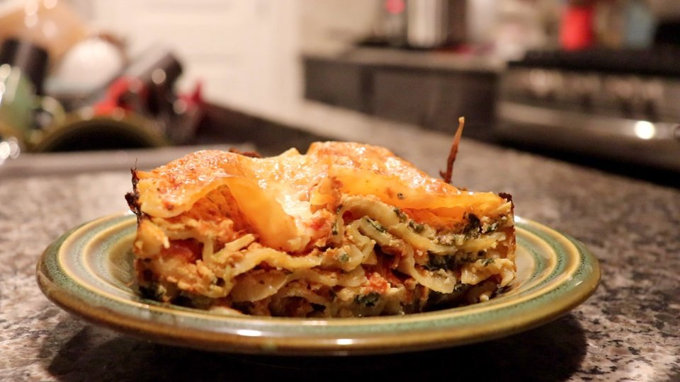 John's Lasagna for One (or Two)