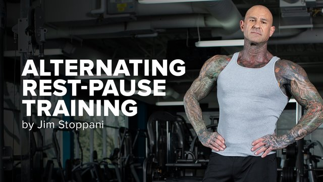 Alernating Rest-Pause Training Header