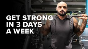 Get Strong in 3 Days a Week