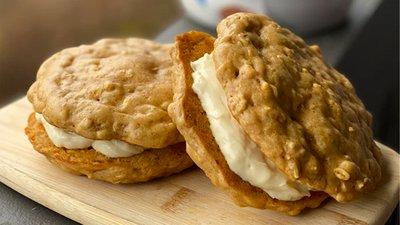 Giant Protein Oatmeal Cream Pie
