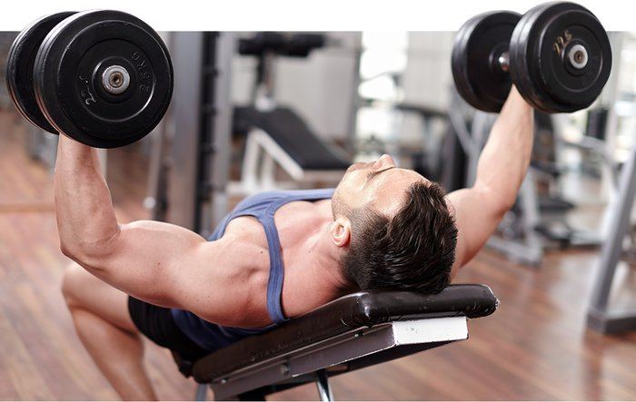 Incline Dumbbell Flyes