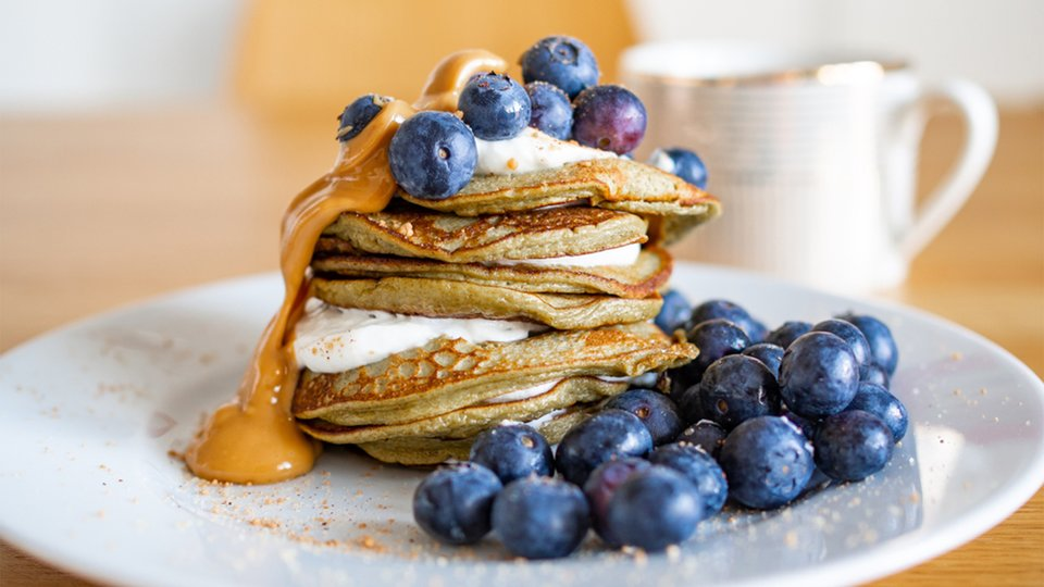 High-Protein Pancakes or Waffles