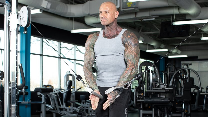 Jim Stoppani Scooping Supps