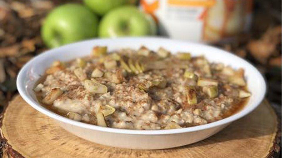 Caramel Apple Slow Cooker Proats
