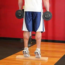 Standing Dumbbell Calf Raise thumbnail image