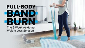 Full-Body Band Burn: The 6-Week At-Home Weight Loss Solution
