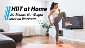 HIIT at Home: 20-Minute No-Weight Interval Workouts