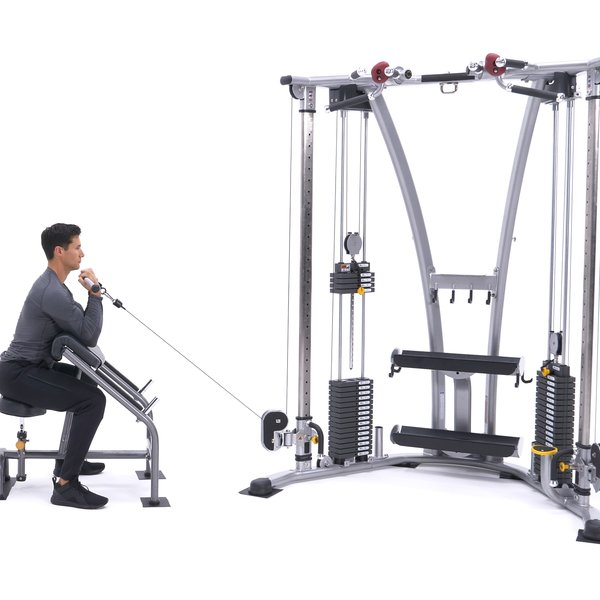 Cable rope preacher hammer curl thumbnail image