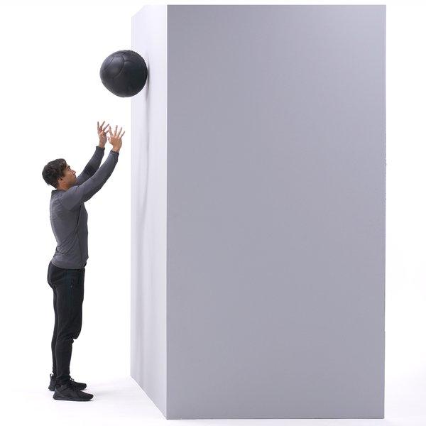 Wall ball toss thumbnail image