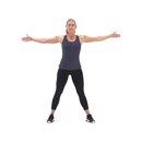 2019 xdb 261a cross body toe touch f1 130x130 3 Upper Body Workouts for Women