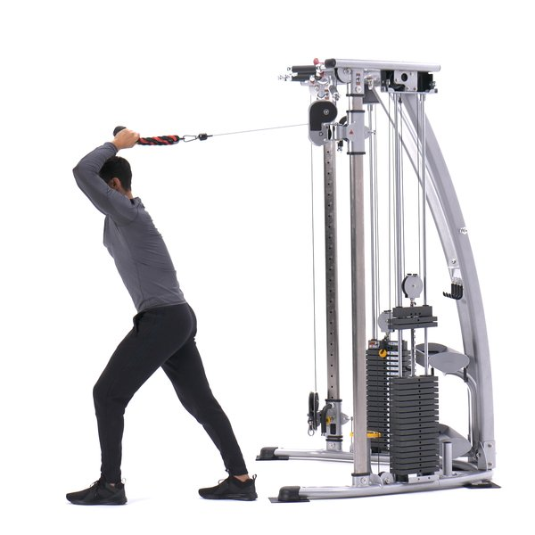 Cable overhead triceps extension thumbnail image