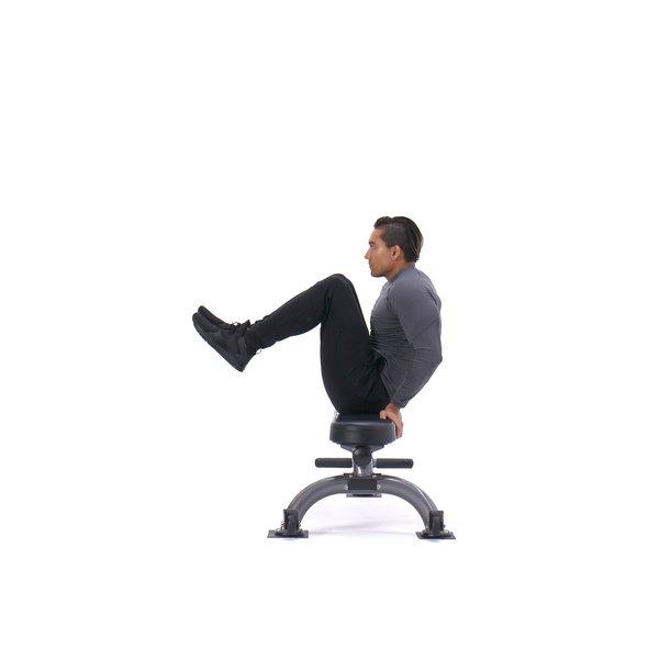 Seated leg tuck thumbnail image