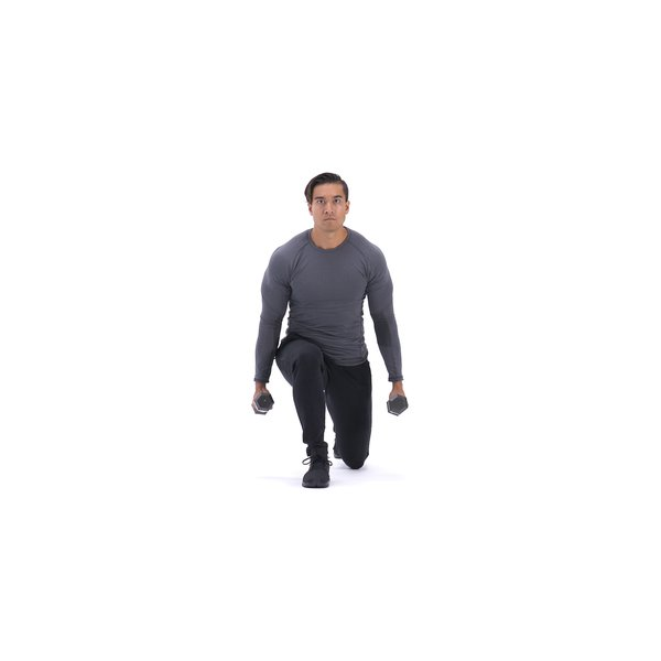 Dumbbell Lunges thumbnail image