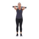 xdb 13d dumbbell front raise f2 square 130x130 3 Upper Body Workouts for Women