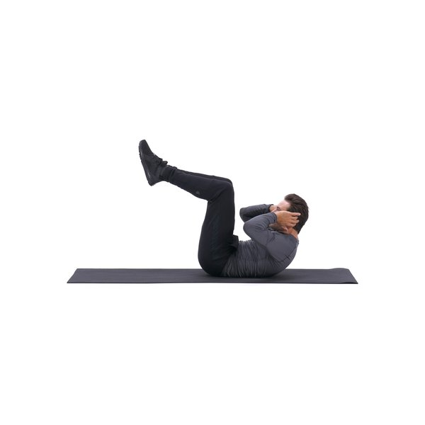 Knees tucked crunch thumbnail image