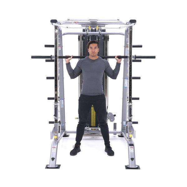 Smith machine back squat thumbnail image