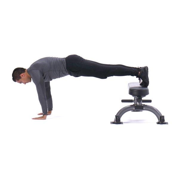 Feet-elevated push-up thumbnail image