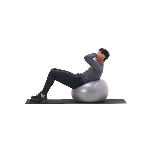 Exercise ball crunch thumbnail image