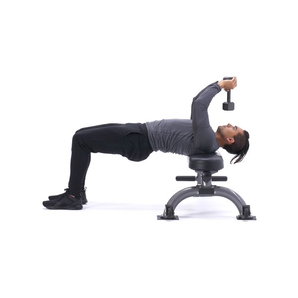 Bent-arm dumbbell pull-over thumbnail image