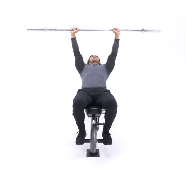 Incline barbell shoulder protraction thumbnail image
