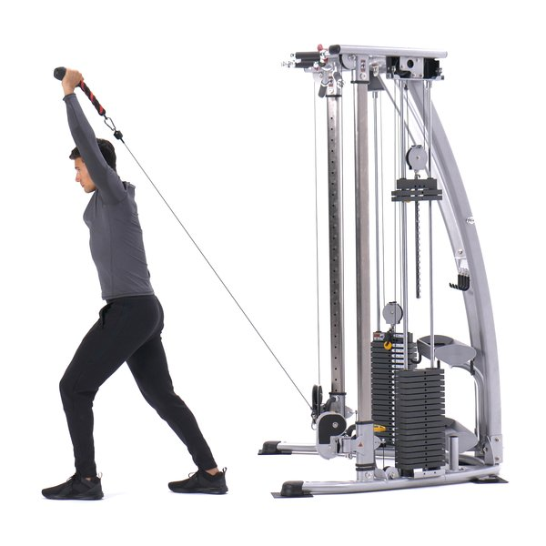 Low cable overhead triceps extension thumbnail image