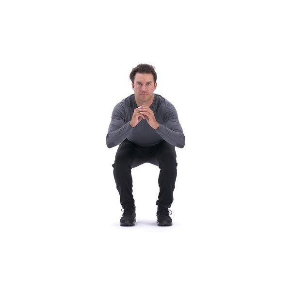 Narrow-stance squat thumbnail image