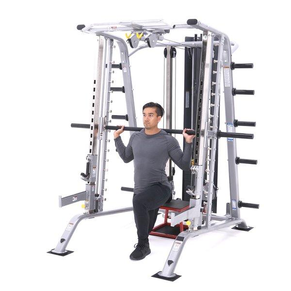 Smith machine Bulgarian split squat thumbnail image
