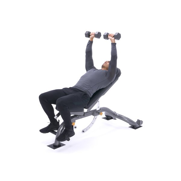 Incline dumbbell bench press thumbnail image