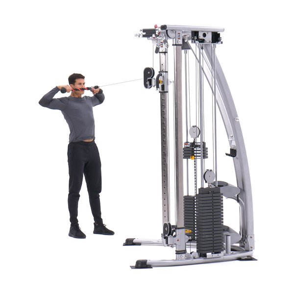 Standing face pull thumbnail image