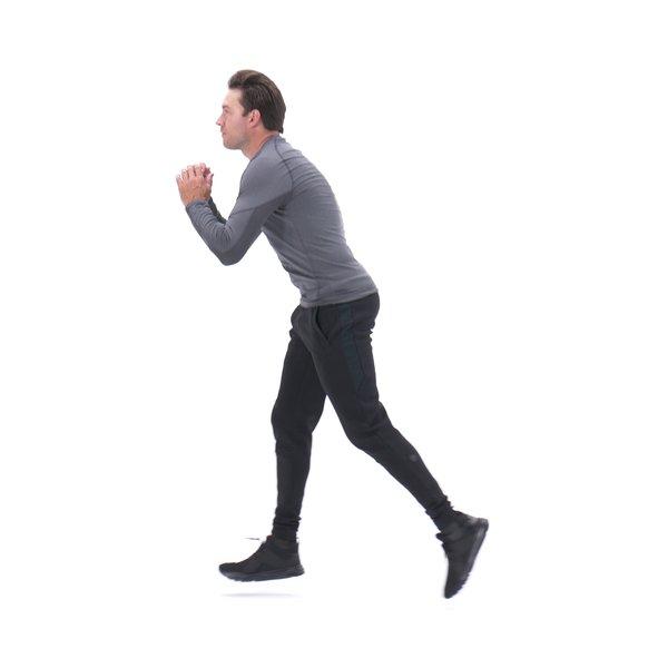 Alternating lunge jump thumbnail image