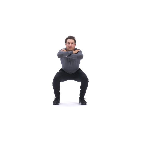Arms-crossed jump squat thumbnail image