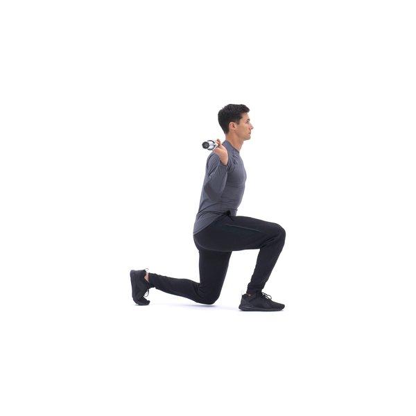 Barbell walking lunge thumbnail image