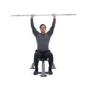 xdb 48e seated barbell shoulder press m2 square 130x130 The Real Ways to Lose Weight Fast