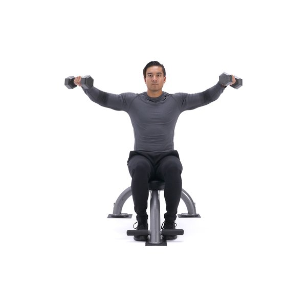 Seated Side Lateral Raise thumbnail image