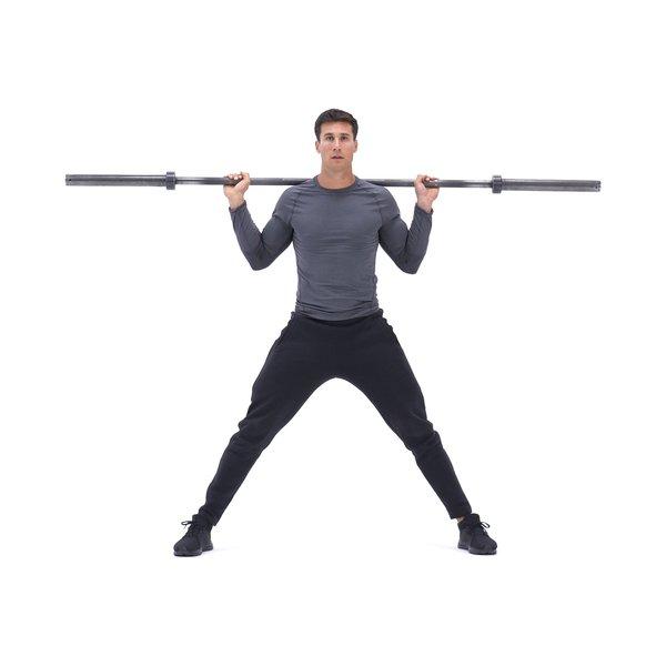 Barbell side split squat thumbnail image